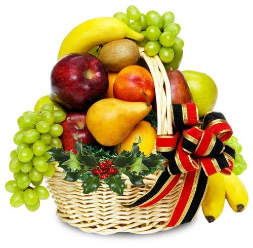 Festive Fruit Basket from Soderberg's Floral & Gift