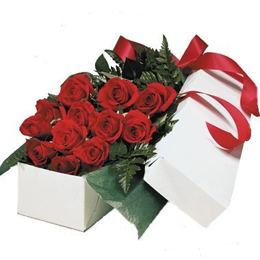 Boxed Roses by Soderberg's Floral & Gift